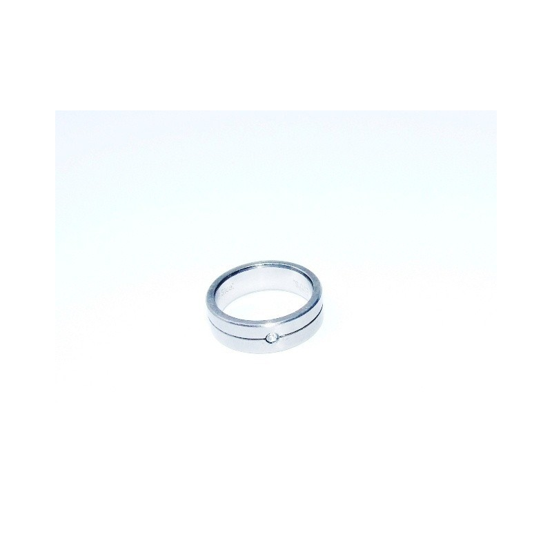 Úzký prsten z chirurgické oceli