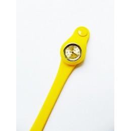 Žluté silikonové hodinky