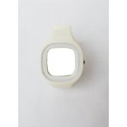 Bílé pouzdro na hodinky