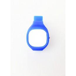 Silikon Uhrengehäuse blau