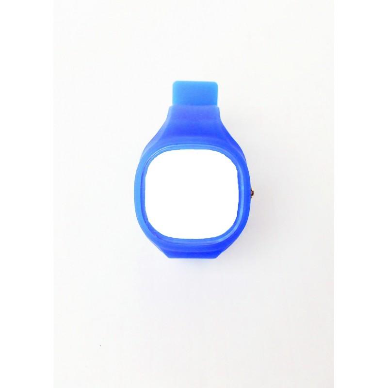 Modré pouzdro na hodinky