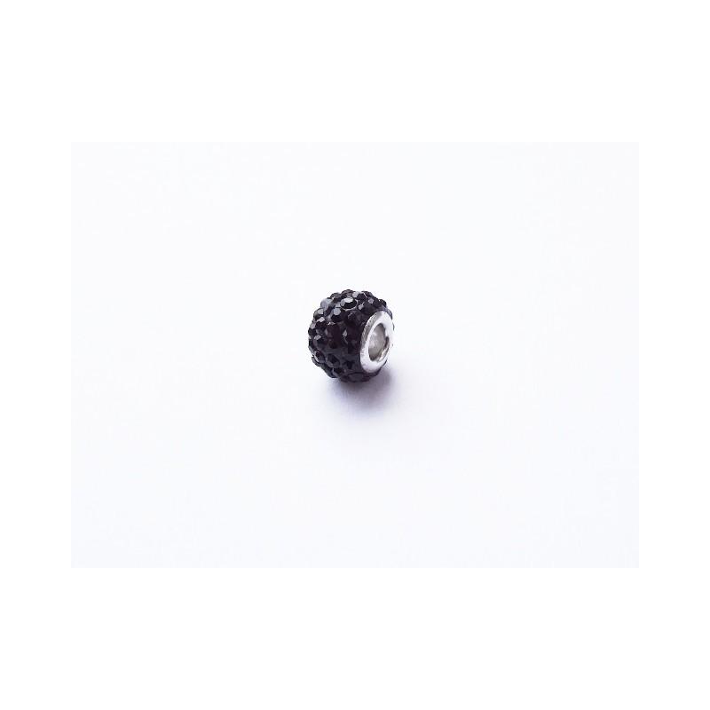 Přívěsek korálek černý