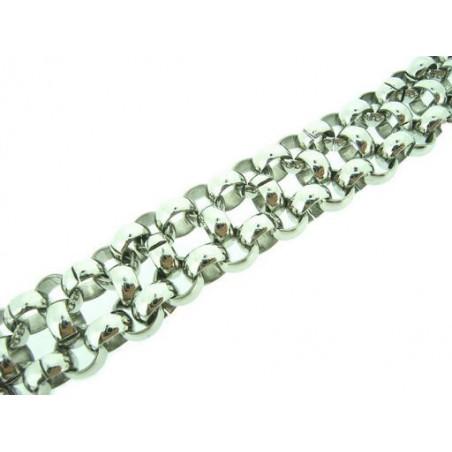 Masivní set náhrdelník a náramek z chirurgické oceli