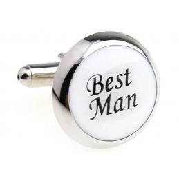 Manžetové knoflíčky svatební Best Man