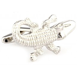 Manžetové knoflíčky krokodýl