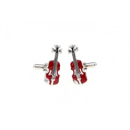 Manžetové knoflíčky housle, pro houslistu, Stradivárky