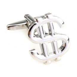 Manžetové knoflíčky stříbrný dolar