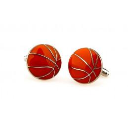 Spinki do mankietów koszykówka