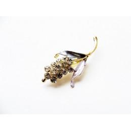 Brož květina