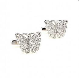 Manžetové knoflíčky Motýl