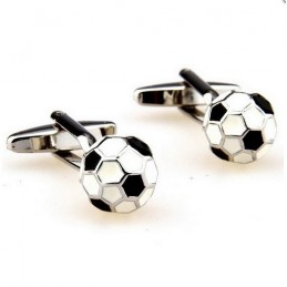 Manžetové knoflíčky fotbalový míč