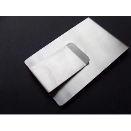 Spona na peníze ocelová peněženka