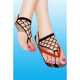 Sieťovaná ozdoba na nohy