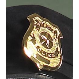 Gold Polizeimarke