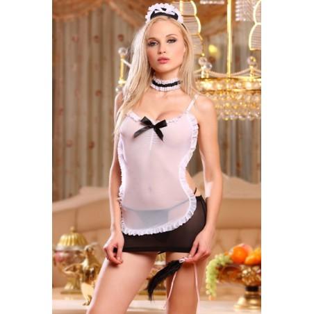 Erotický kostým služebná