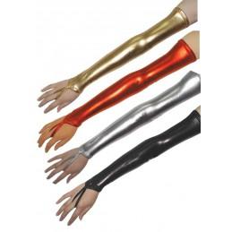 Długie rękawiczki lycra