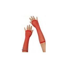 Erotyczne rękawiczki z siatki