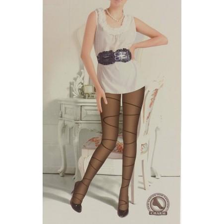 Punčochové kalhoty se vzorem