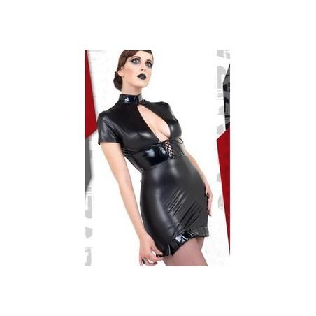 Sexy Kleid mit Stehkragen