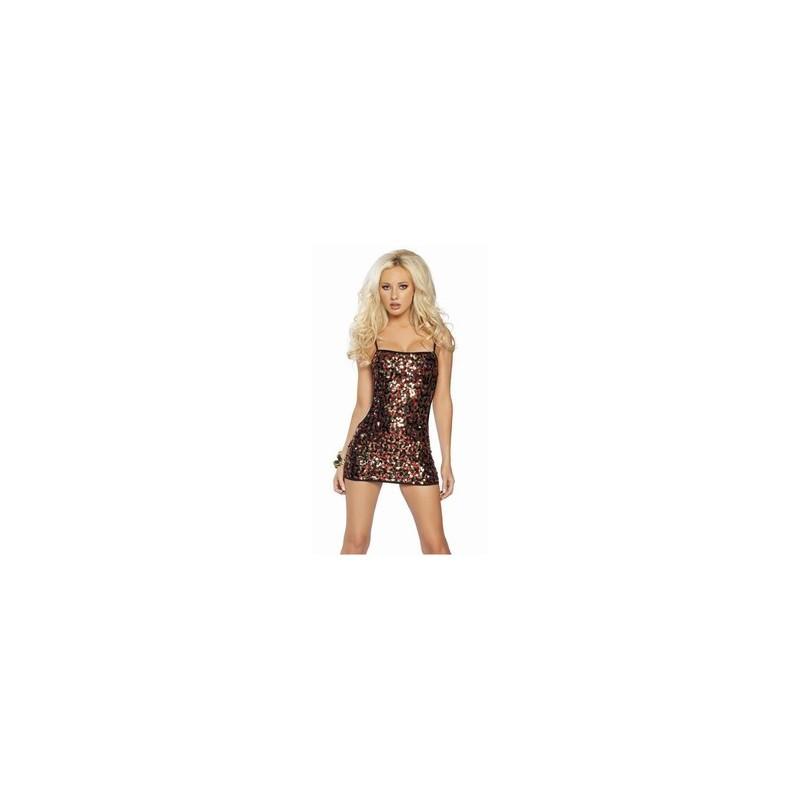 Sexy Kleid mit Pailletten