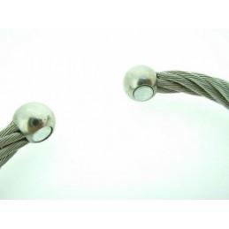 Náramek silná ocelová struna