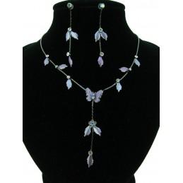 Bižuterie set - fialový