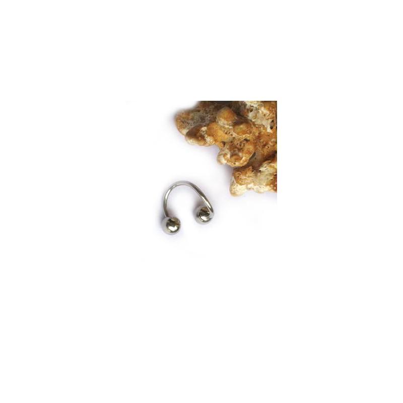 Piercing do obočí, rtu chirurgická ocel