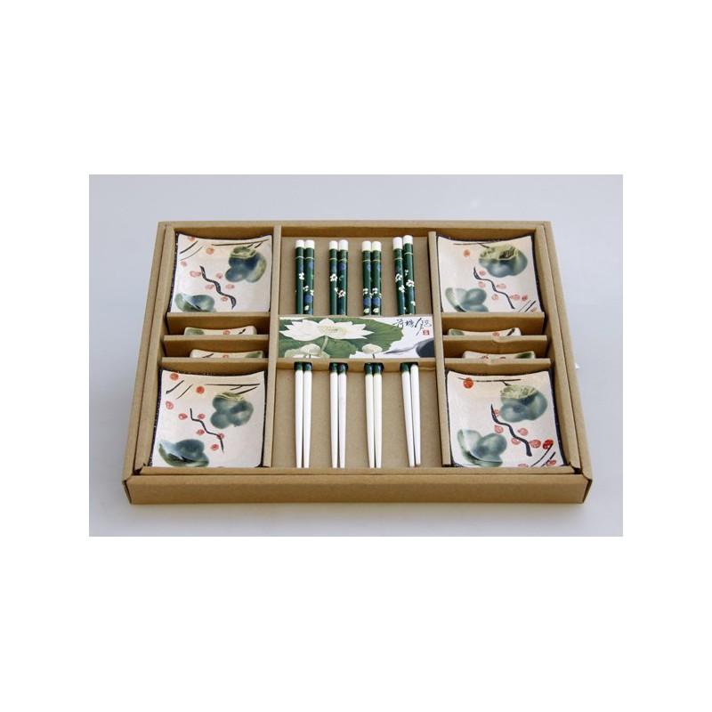 Sushi- Set Geschirr für 4