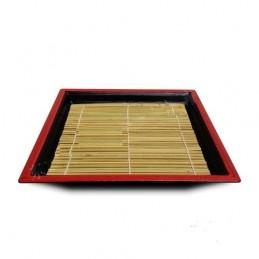 Sushi-Teller mit Rollmatte