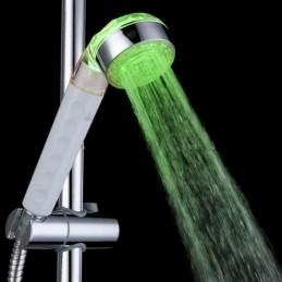 Világító LED zuhanyzófej...