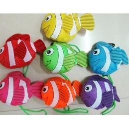 Składana torba rybka