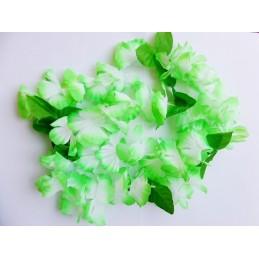 Hawaii Blumenkette grün