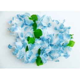 Hawaii Blumenkette blau