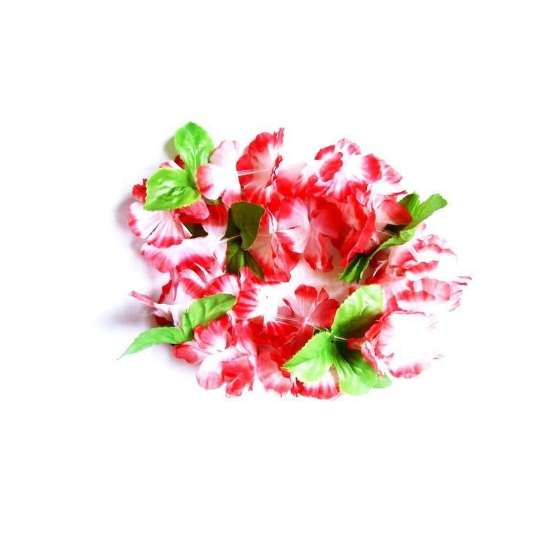 Rote Hawaii Blumenkette