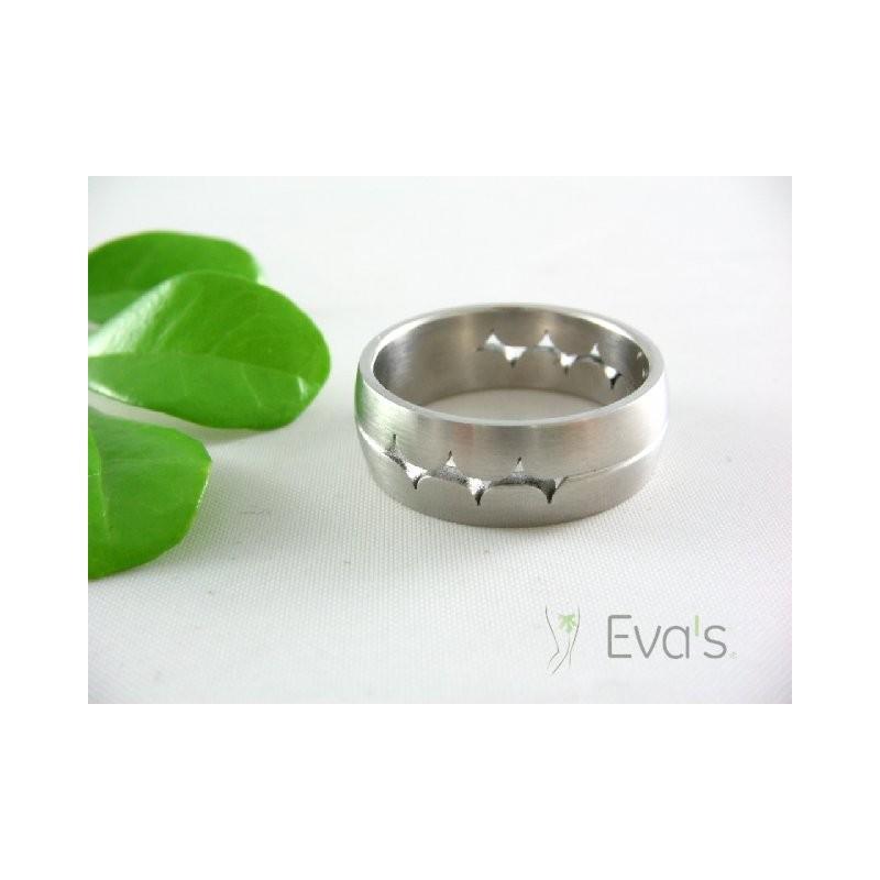 Prsten ocelový