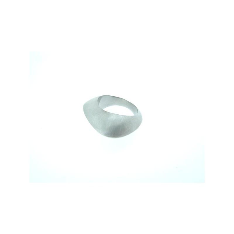 Ocelový prsten masivní