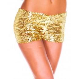 Pailletten-Shorts