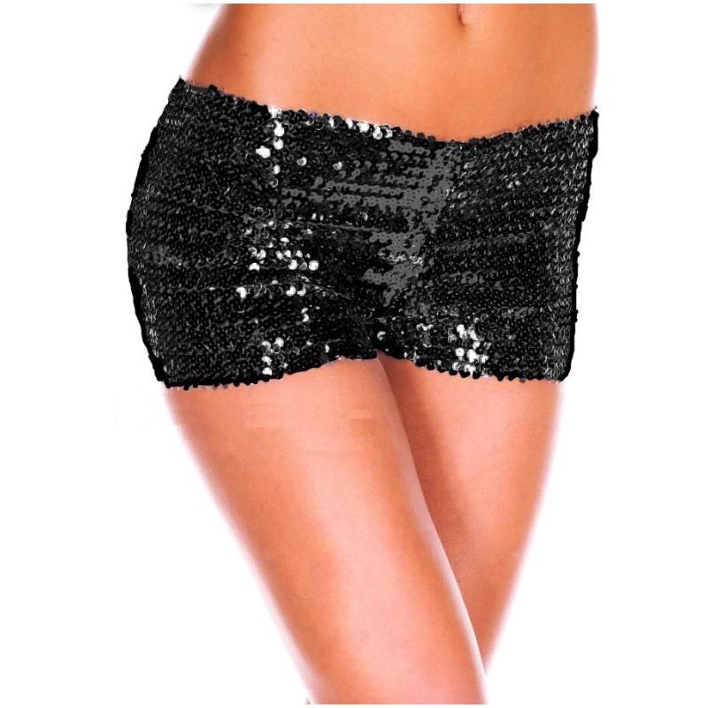 Nohavičkové kalhotky s flitry