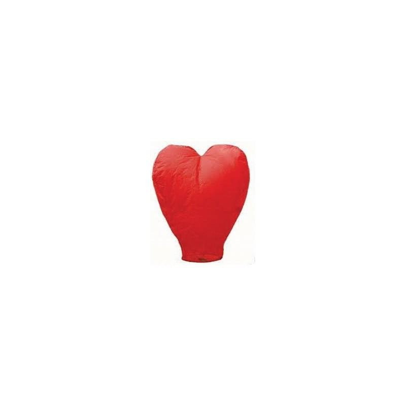 Lampion štìstí èervené srdce