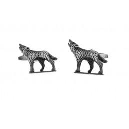 Manžetové gombíky vlk