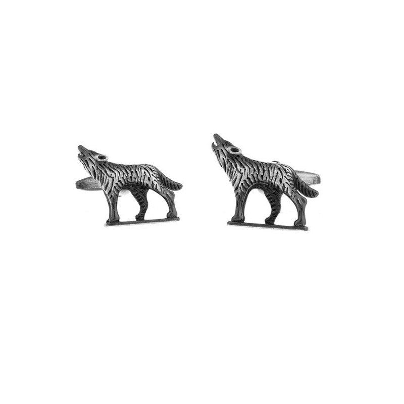 Manžetové knoflíčky vlk