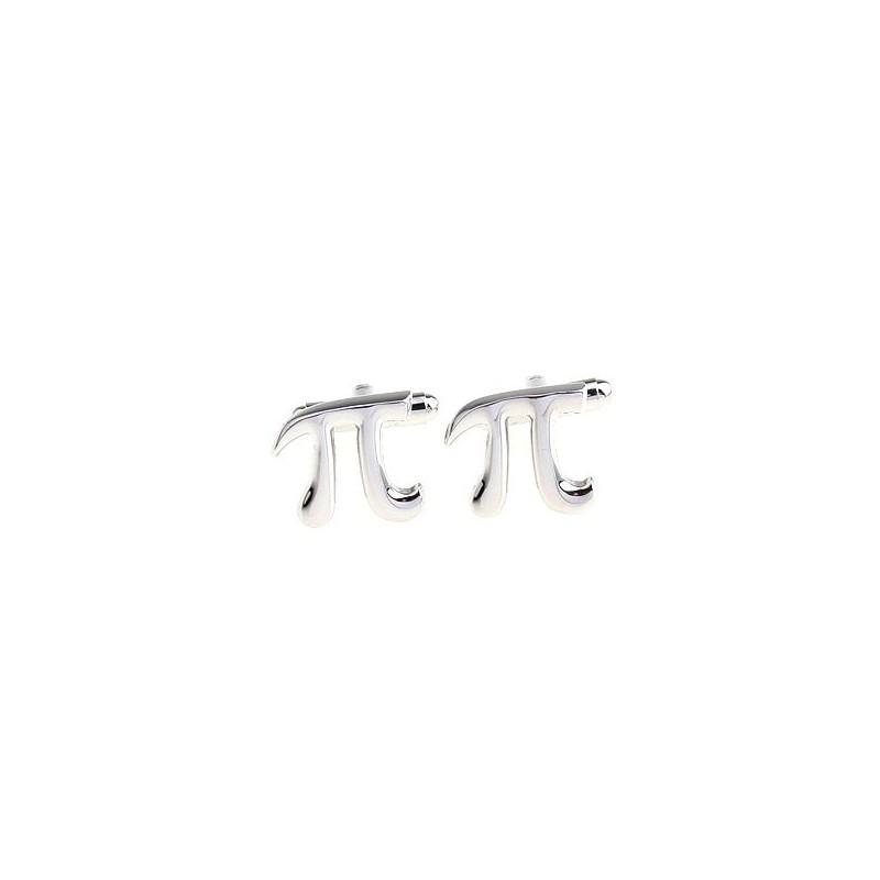 Manžetové knoflíčky pro matematika - Pí