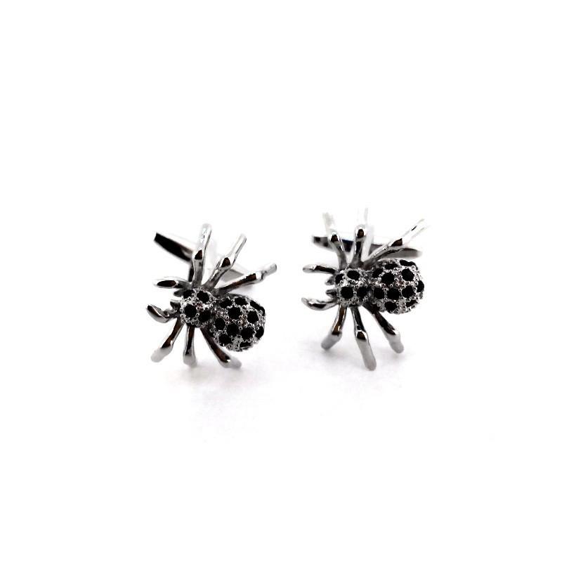 Manžetové knoflíčky pavouk