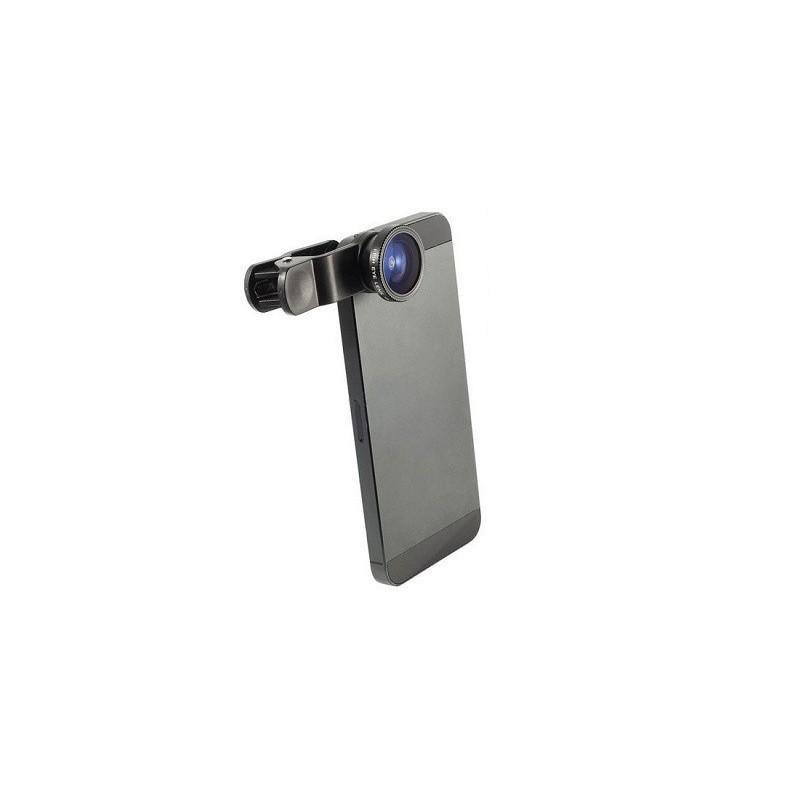 Univerzální klip objektiv 3v1 na mobilní telefony