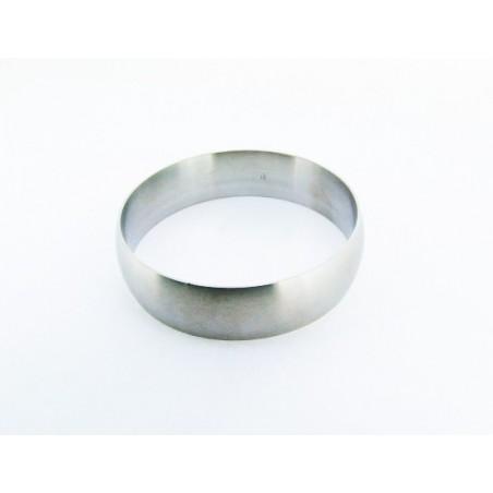 Náramek velký ocelový kruh