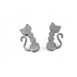 Ohrringe Katzen
