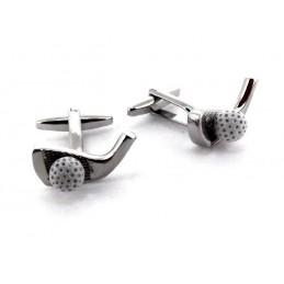 Manžetové gombíky pre golfistov