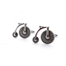 Manžetové knoflíčky historický bicykl