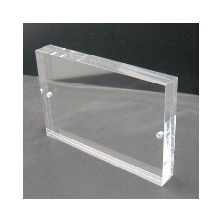 Obdélníkový akrylový fotorámeček 9x13cm
