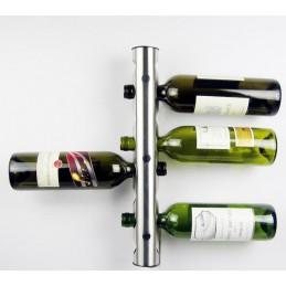 Moderný nástenný držiak na fľaše